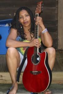 no, I don't play guitar - just posing!